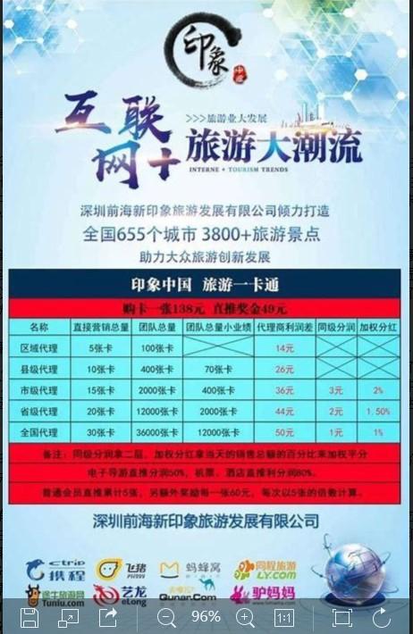印象中国一卡通免费游遍全中国3800个景点,是真的吗?_手机上网怎么赚钱,挣钱好门路_魔侠传怎么赚钱,创业板股票交易规则
